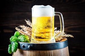 Öl är gott men sänker testot