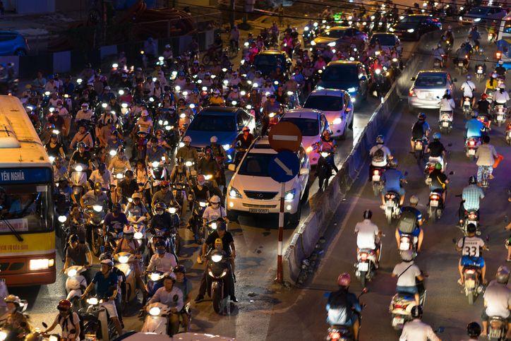 Trafiken i Vietnam